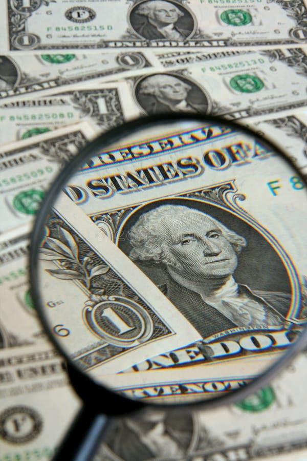 Alto vicino del dollaro fotografie stock libere da diritti