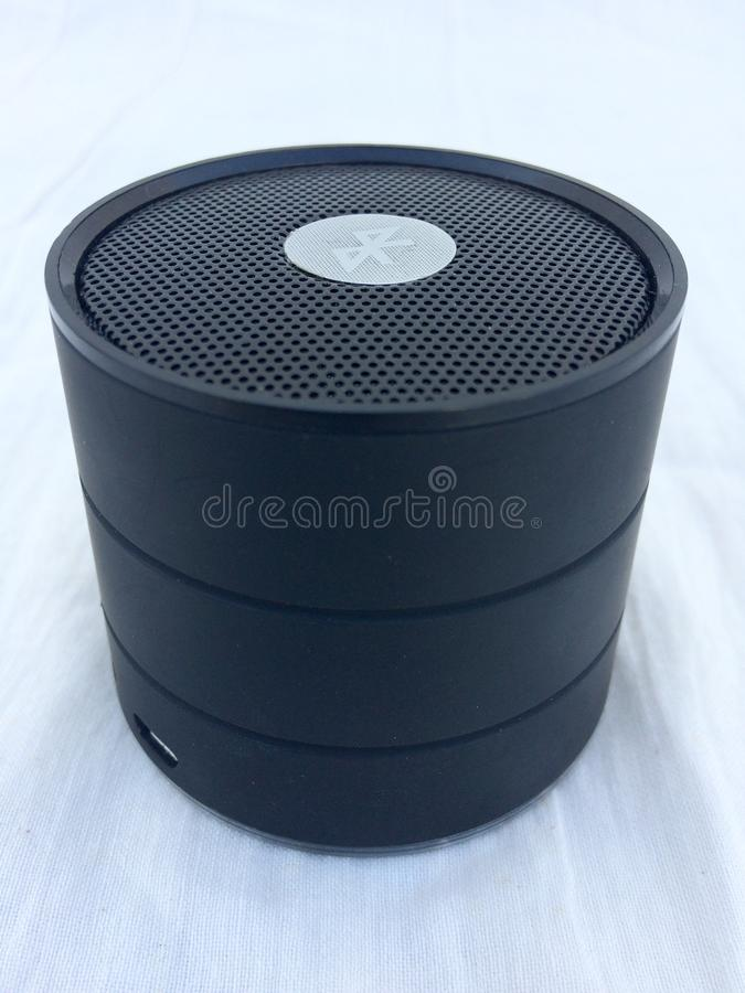 Altoparlante di Bluetooth immagini stock