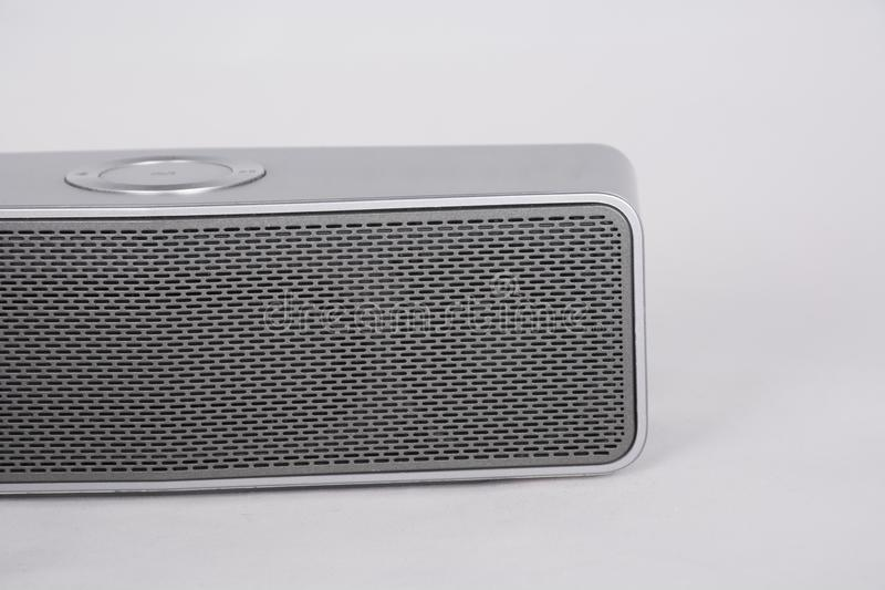 Altoparlante portatile di Bluetooth immagini stock
