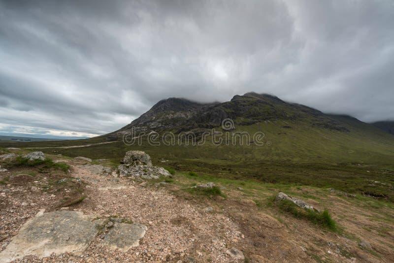 Altopiani Scozia, Regno Unito di Scotish fotografie stock libere da diritti