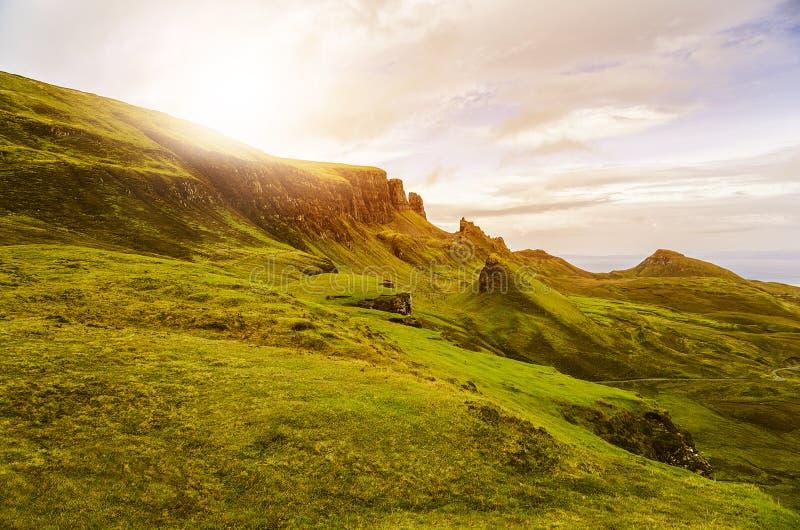 Altopiani scozzesi fotografia stock libera da diritti