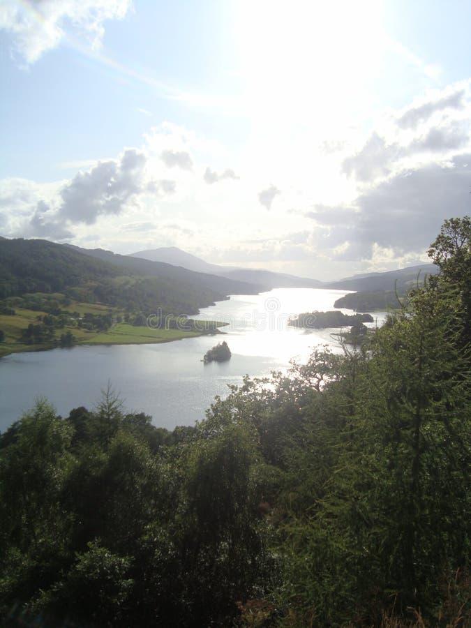 Altopiani scozzesi immagine stock