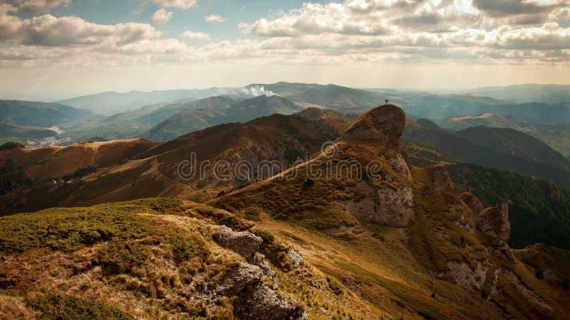Altopiano, Ridge, Landforms montagnosi, montagna fotografia stock libera da diritti
