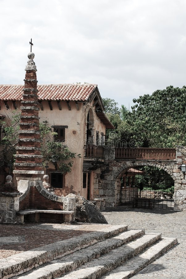 altos chavon de views 免版税库存图片