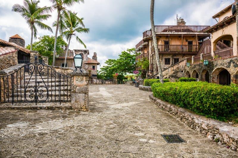Altos de Chavon,多米尼加共和国 免版税图库摄影
