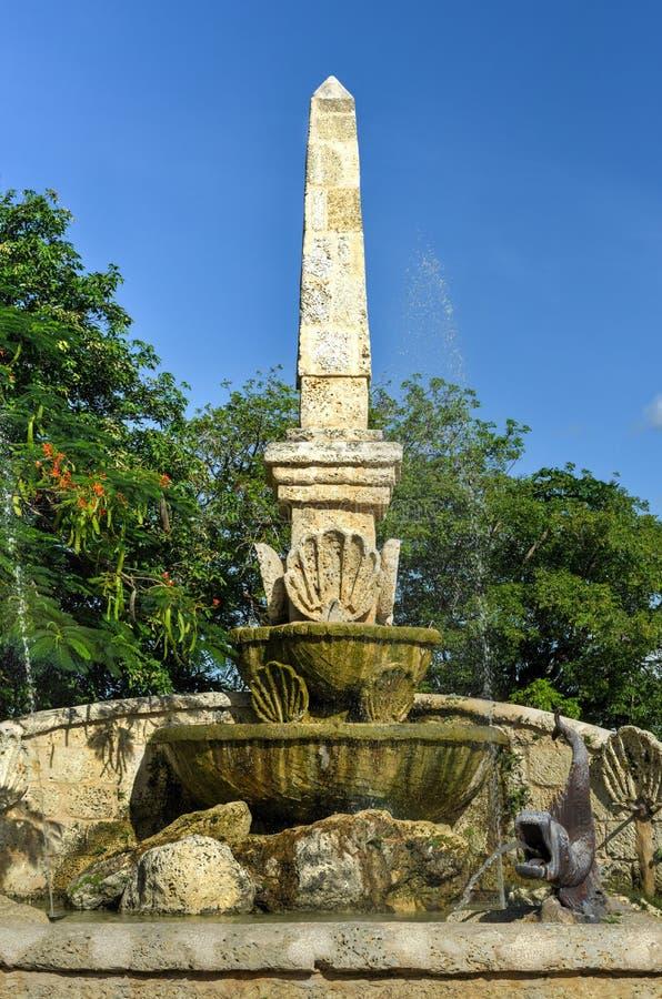 Altos de Chavon,拉罗马纳,多米尼加共和国 免版税库存照片