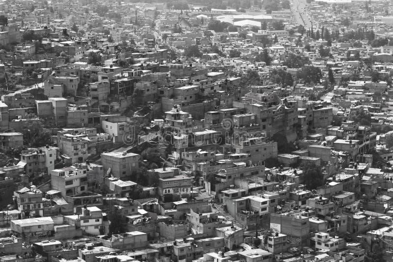 Altos de los barrios hispanos del Los imagen de archivo libre de regalías