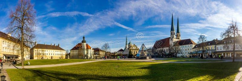 Altotting w Bavaria german zima zdjęcie royalty free