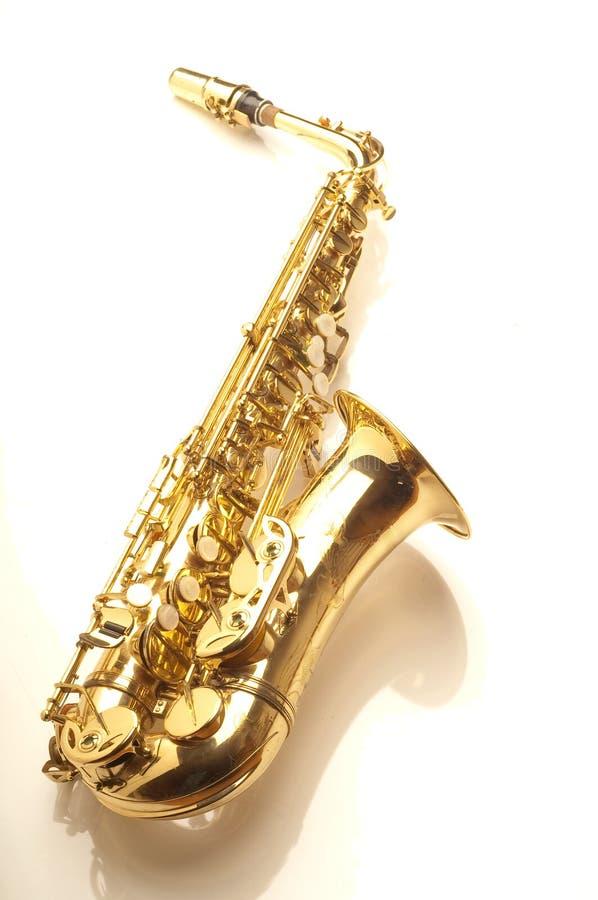 altowy saksofon obraz stock