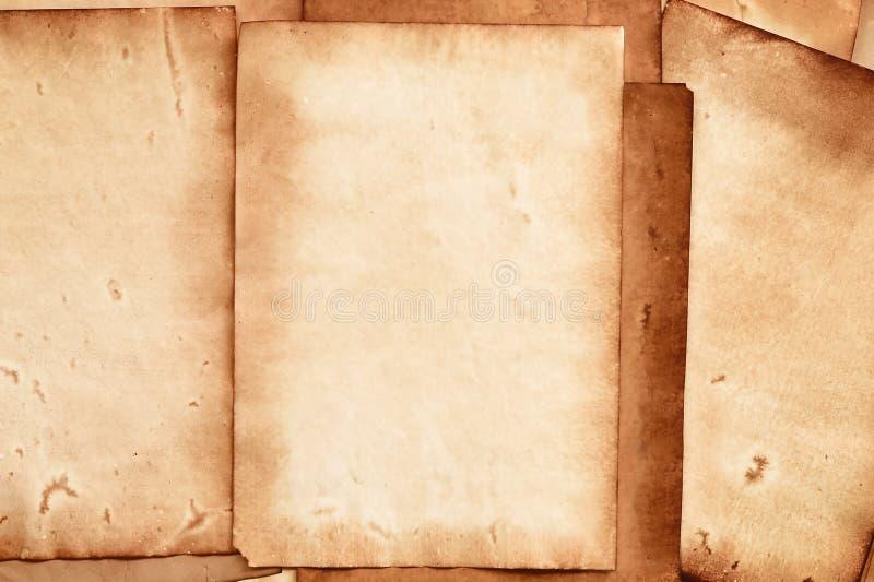 Altpapierstruktur lizenzfreie stockfotografie
