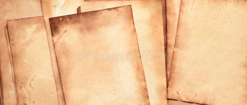 Altpapierstruktur lizenzfreie stockbilder