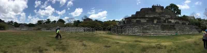 Altun brzęczeń ruin krajobrazu panoramiczna scena obrazy stock