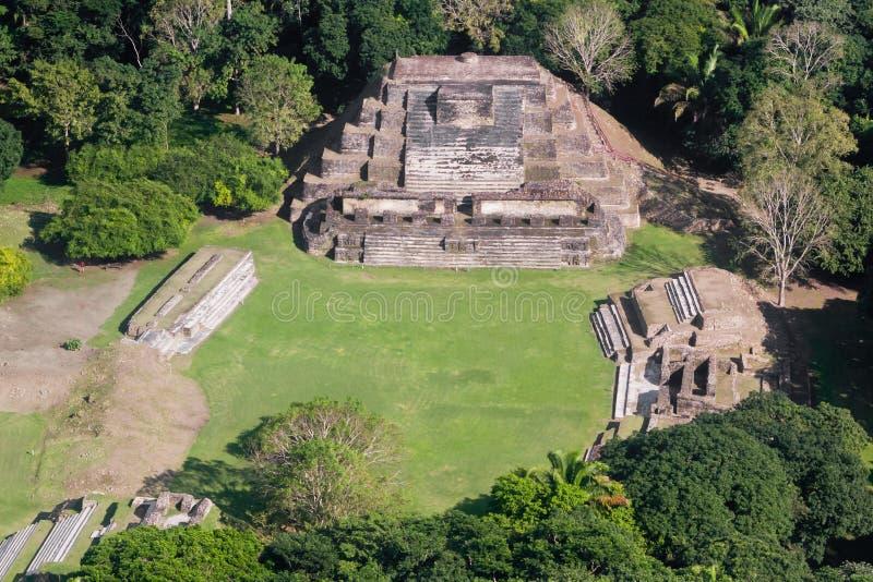 Altun brzęczenia, majowie ruiny zdjęcie royalty free