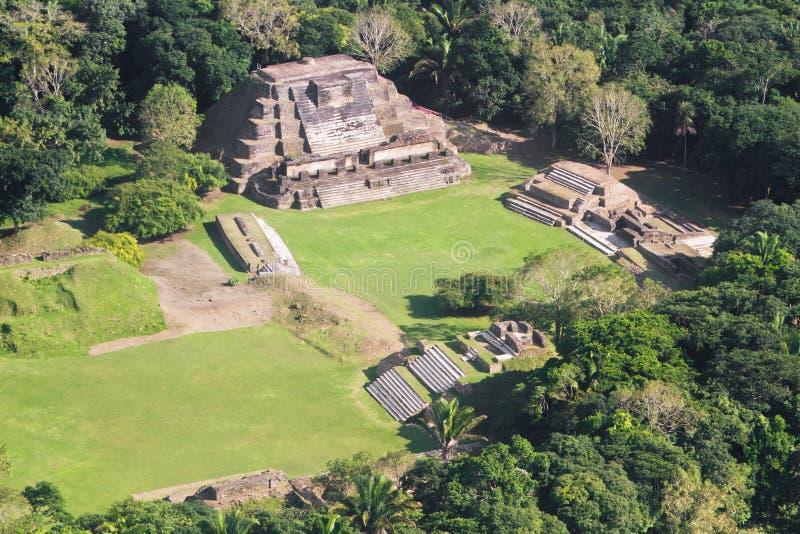 Altun brzęczenia, majowie ruiny zdjęcia royalty free