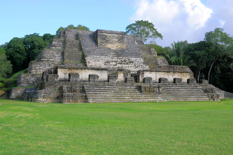 Altun Ha, Belize royalty-vrije stock fotografie
