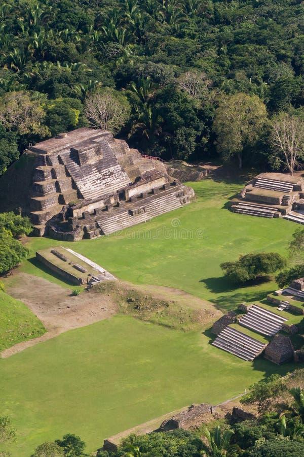 Altun Ha, ruines de Maya images libres de droits