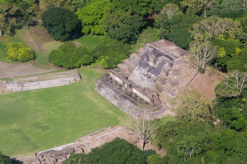 Altun Ha, ruines de Maya image libre de droits