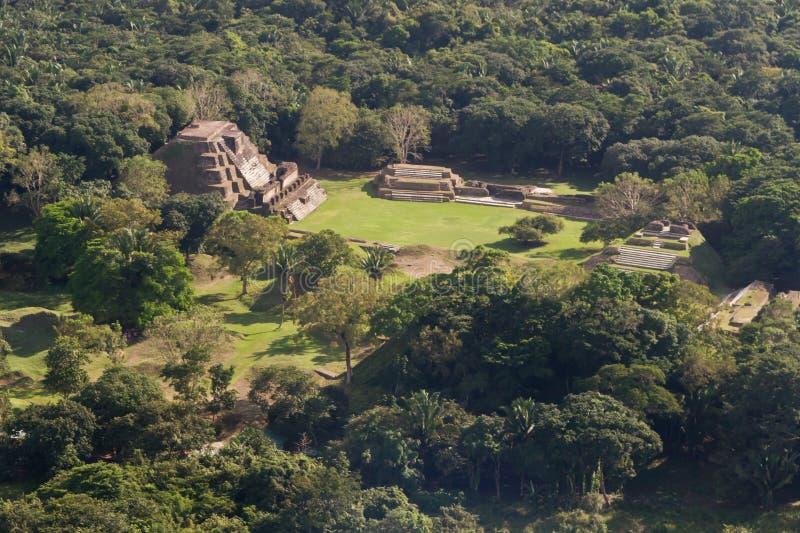 Altun Ha, ruines de Maya photo stock