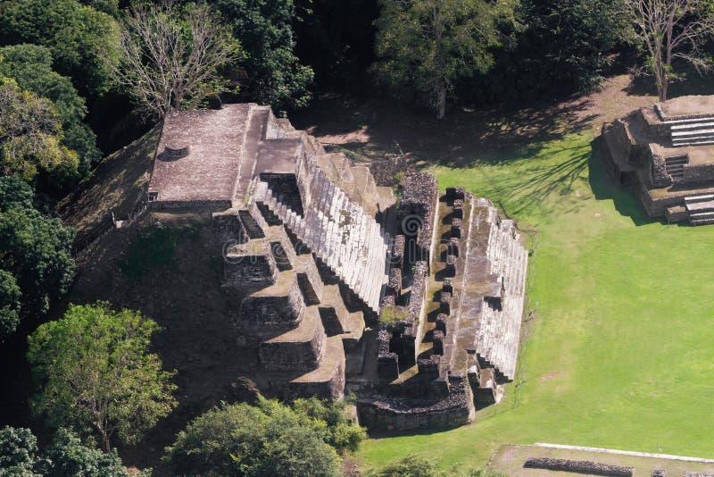 Altun Ha, ruines de Maya photographie stock