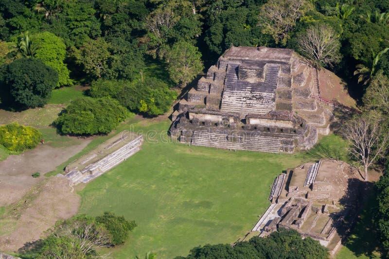 Altun Ha, ruines de Maya photographie stock libre de droits
