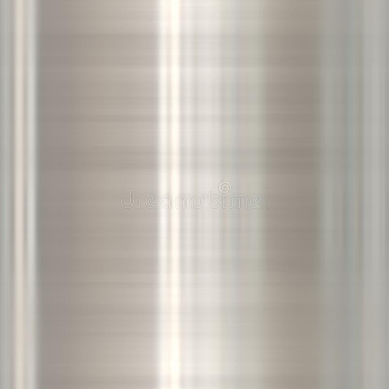 alu de prata ilustração stock