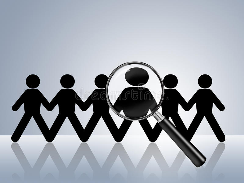 Aluguer querido ajuda da busca de trabalho agora ilustração do vetor