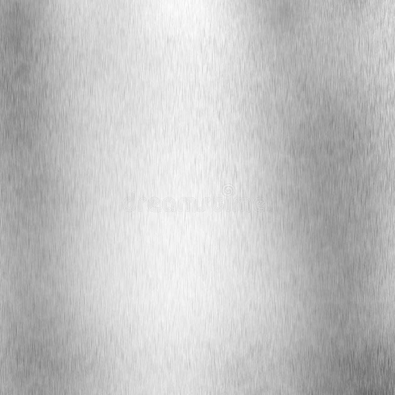 Alumínio escovado ilustração stock