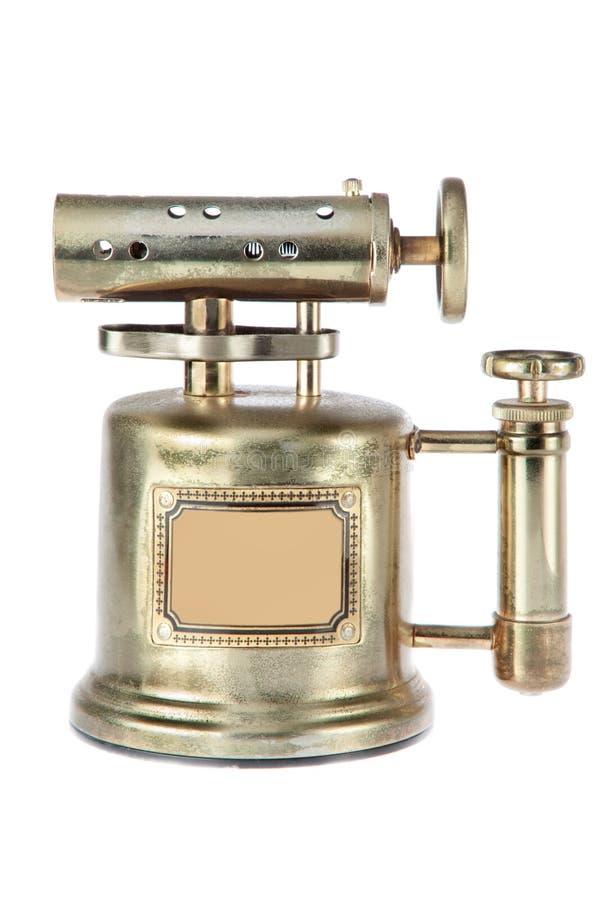 Alumbrador de gas antiguo. fotografía de archivo