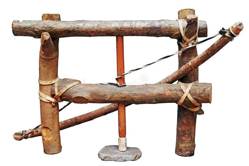Alumbrador de la Edad de Piedra imágenes de archivo libres de regalías
