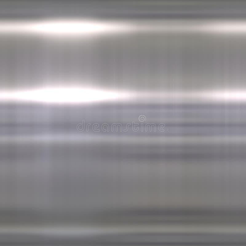 Aluminio aplicado con brocha Sl con puntos culminantes brillantes foto de archivo libre de regalías