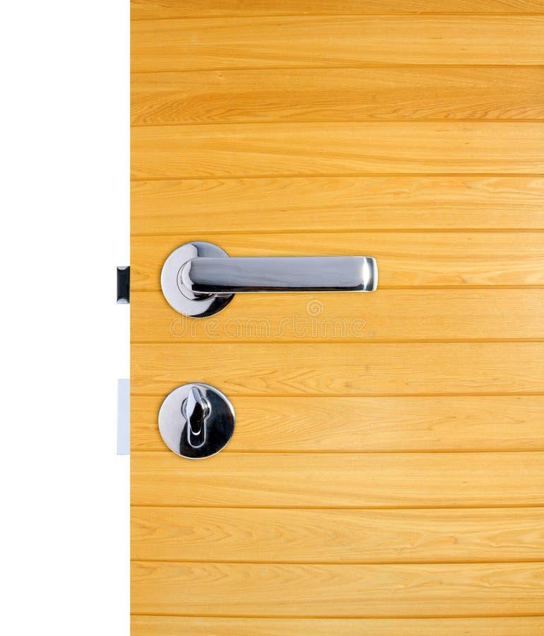 Aluminiowa drzwiowa rękojeść fotografia royalty free