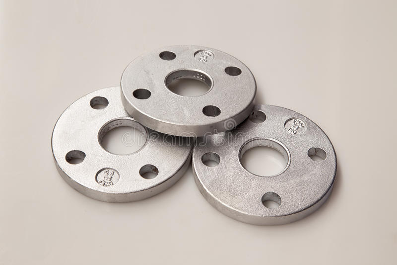 Aluminiowe flansze zdjęcie royalty free