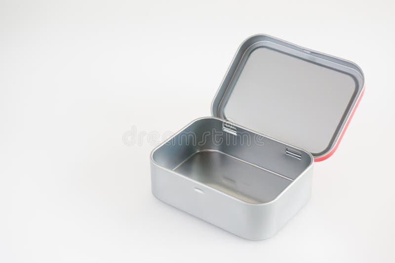 Aluminiowy Bożenarodzeniowy pudełko zdjęcia royalty free