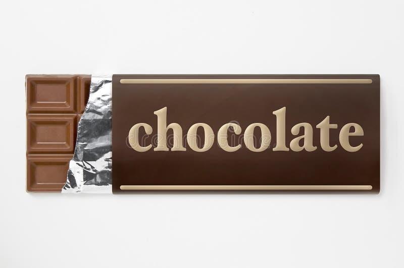 aluminiowy czekolady folii papieru opakowanie zdjęcie royalty free