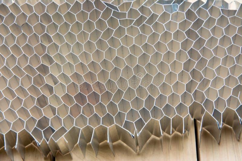 Aluminiowy miód grępli use dla automobilowego przemysłu zdjęcie royalty free
