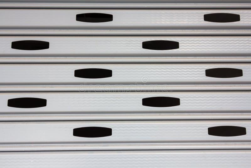 Aluminiowy toczny drzwi zdjęcie stock