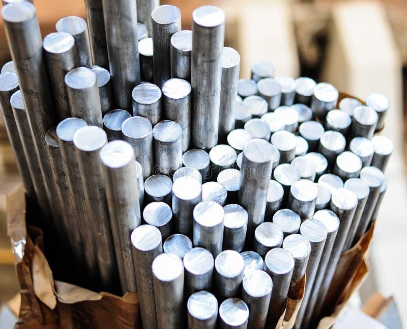 Aluminium royaltyfri fotografi