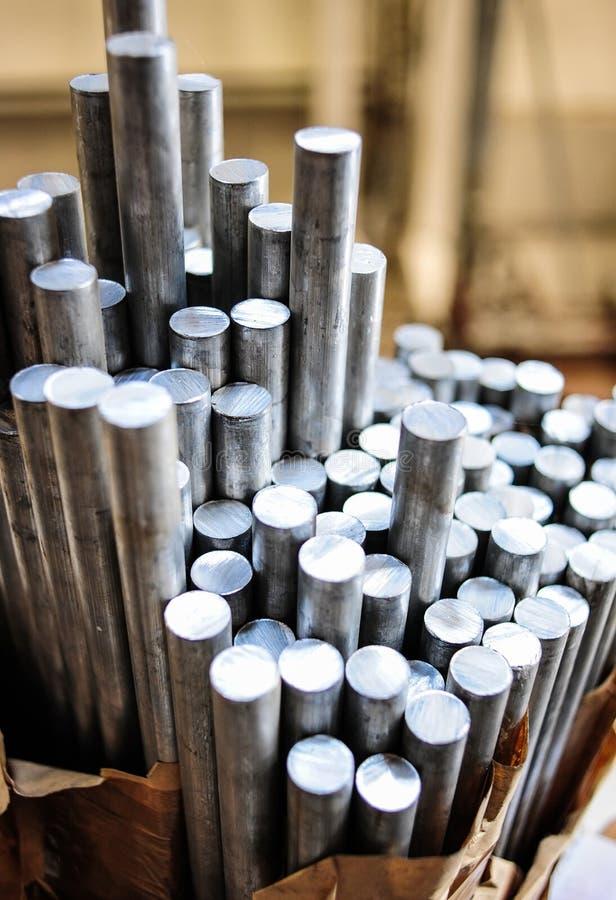 Aluminium stockbilder