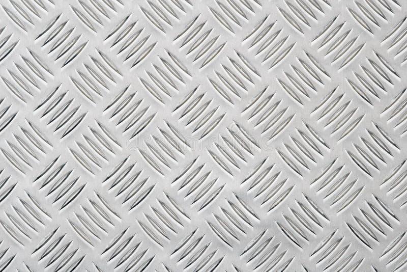 Aluminium. Sheet of aluminium stock image