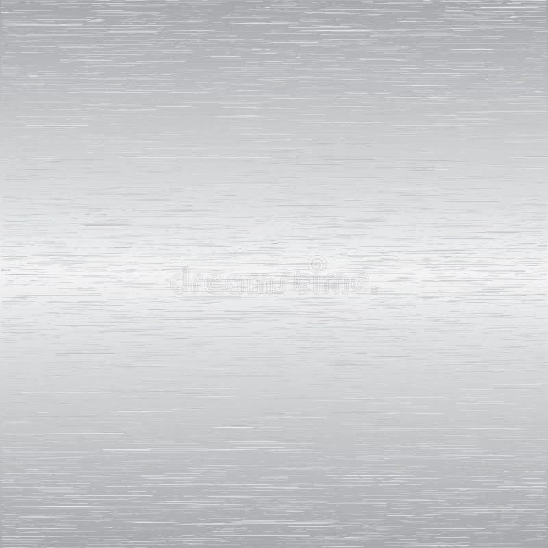 aluminium borstad vektor vektor illustrationer