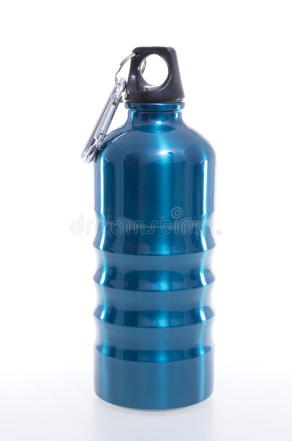 Aluminium Bottle royalty free stock photos