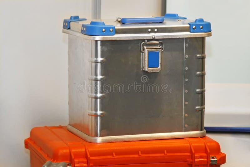Aluminium Box Royalty Free Stock Photography