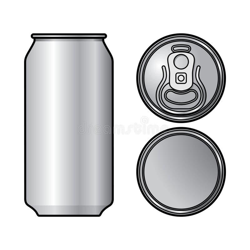 Download Aluminium Can stock vector. Illustration of aluminium - 31435664