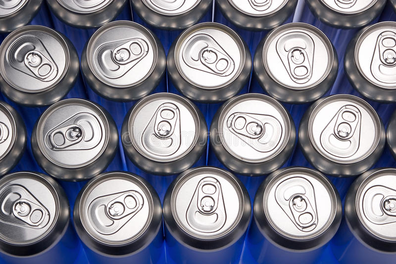 Download Aluminium cans stock photo. Image of cans, fabricate - 18372826
