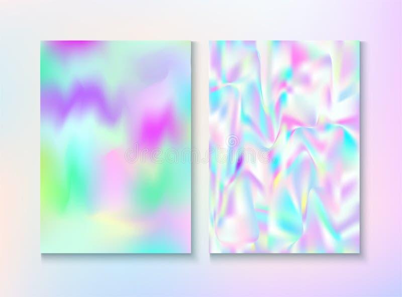 Aluminium cosmique, couverture en m?tal, texture de magazine de vecteur illustration libre de droits