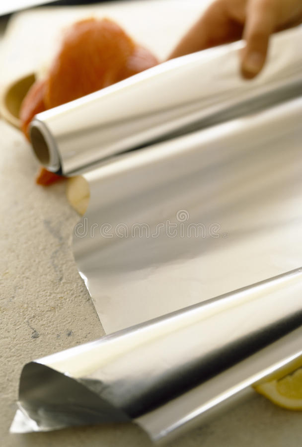 Download Aluminium foil stock photo. Image of ingredient, selective - 23702708