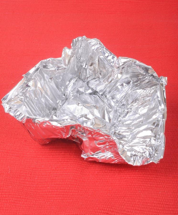 Aluminium Folie Arkivbilder
