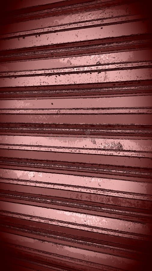 Aluminium noir de cuivre de carbone image libre de droits