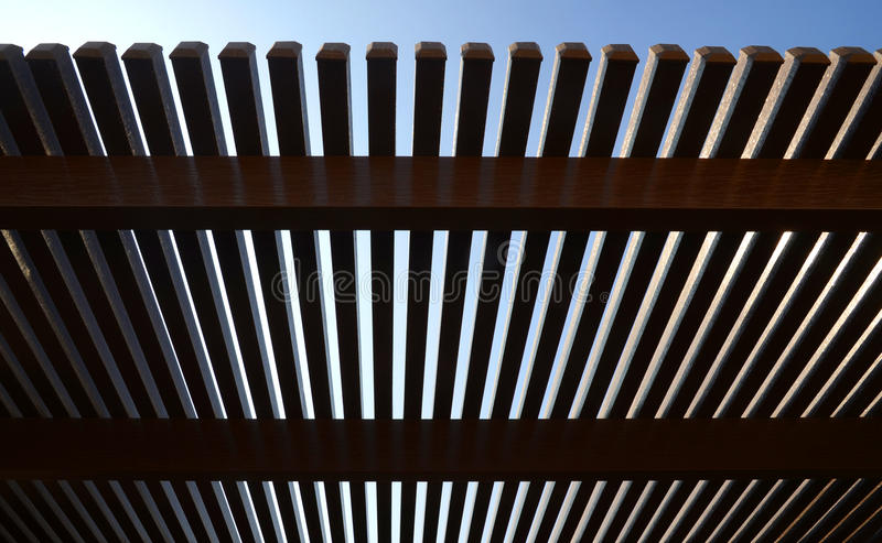 Aluminium Pergola royalty free stock photography