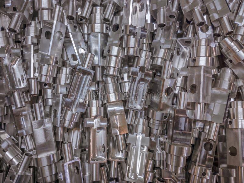 Aluminium rozdziela tło zdjęcia royalty free